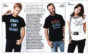Jeans for Genes - Who Weekly